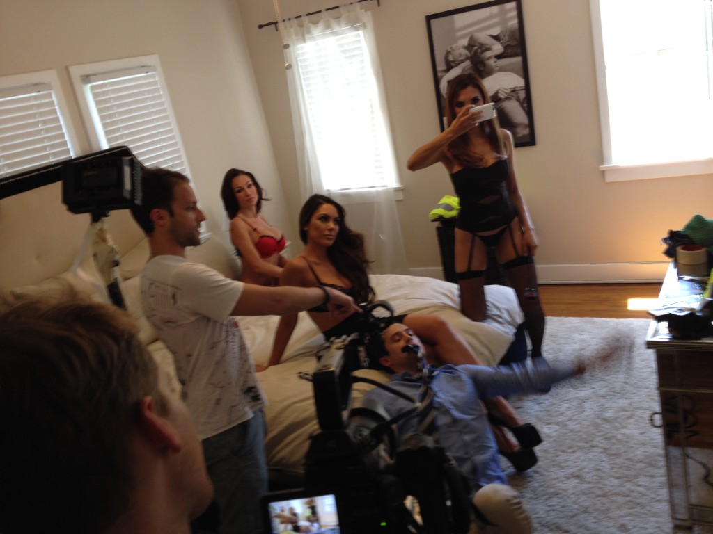 Directing Stephen Colletti, Carissa Rosario, Aria London, and Raven Lexy